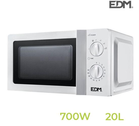 S.of microondas 20 litros – 700w – edm